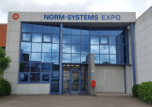 Kantoor Norm-Systems Expo in Haarlem