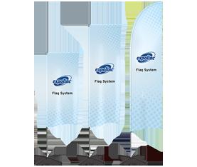 Expolinc flag system